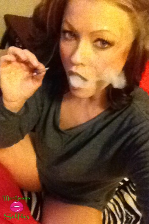 Christina Farris Selfie No. 1064 - VOTE for this Marijuana Selfie!