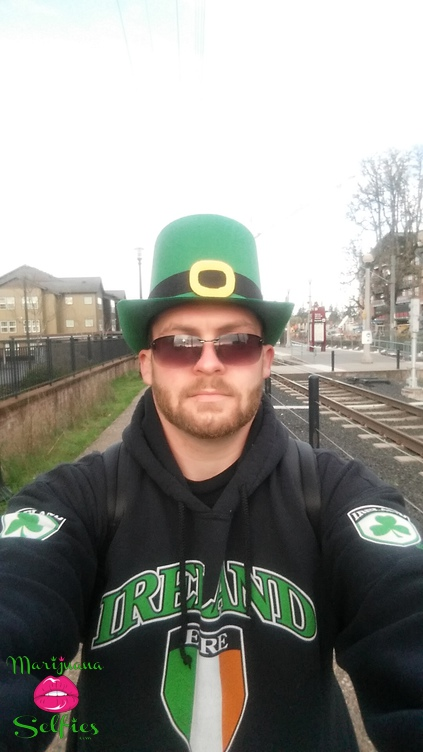keegan Irish  Selfie No. 1277 - VOTE for this Marijuana Selfie!