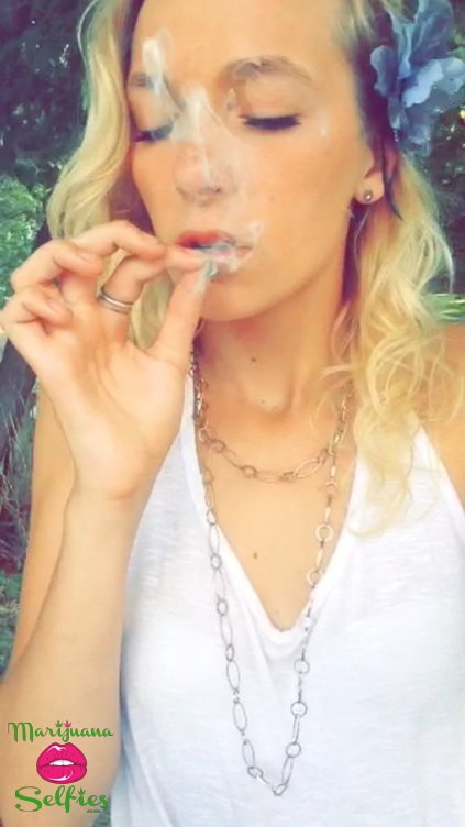 Megan Katherine Selfie No. 1342 - VOTE for this Marijuana Selfie!