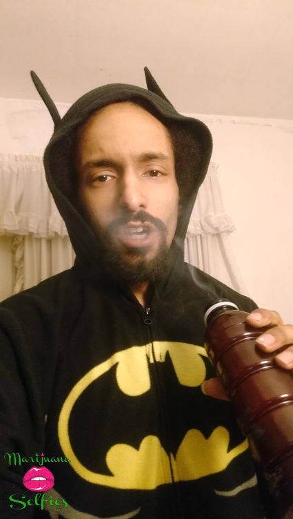 D'Angelo Carnes Selfie No. 1807 - VOTE for this Marijuana Selfie!