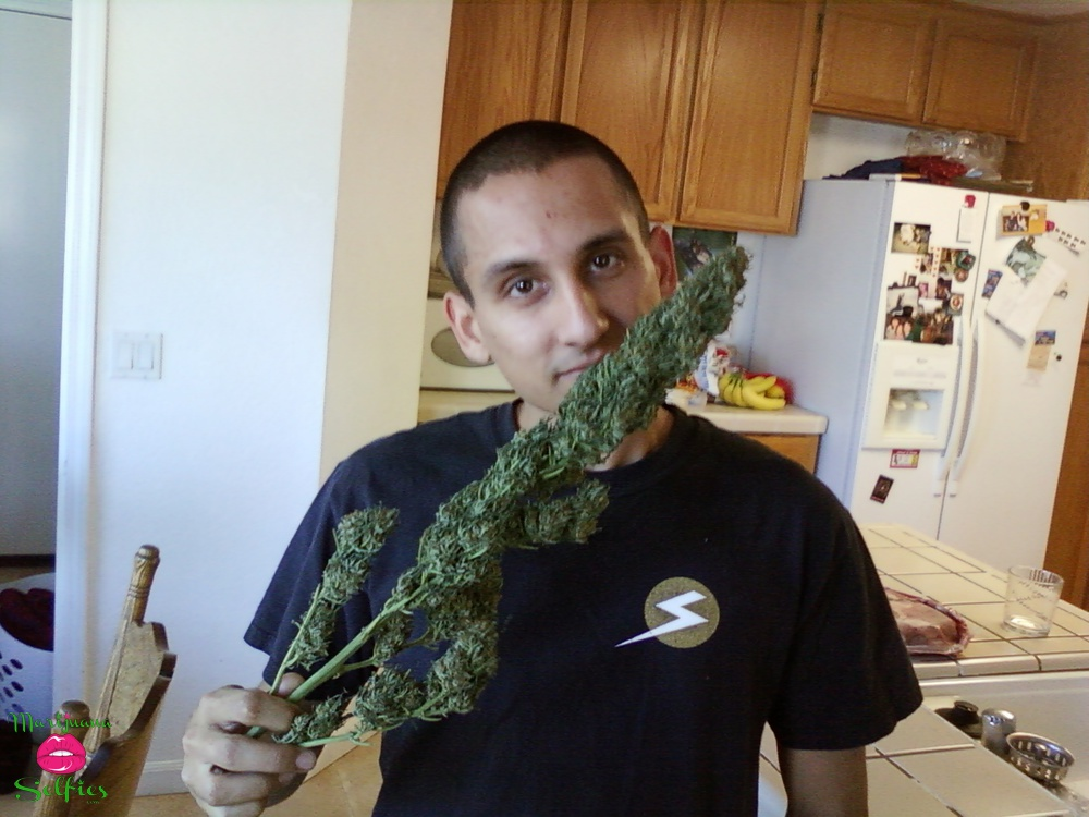 Curtis Pindrock Selfie No. 2665 - VOTE for this Marijuana Selfie!