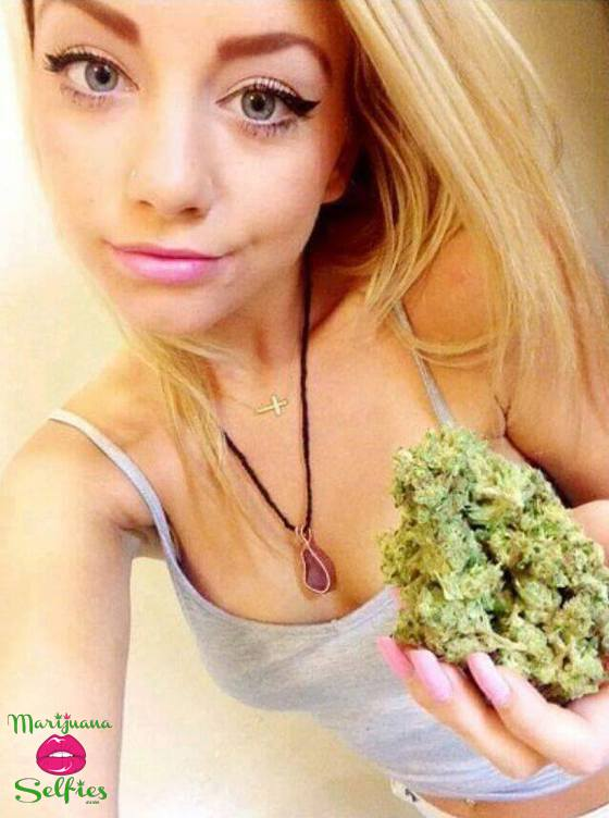 Barbie Dahl Selfie No. 3416 - VOTE for this Marijuana Selfie!