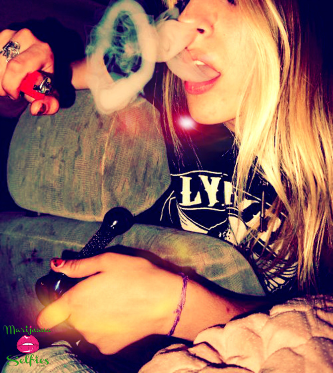Barbie Dahl Selfie No. 4184 - VOTE for this Marijuana Selfie!
