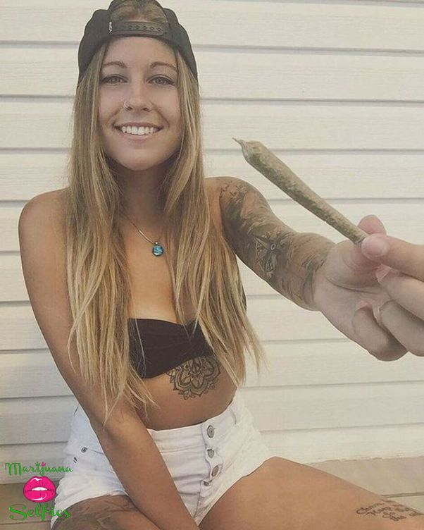 Barbie Dahl Selfie No. 4190 - VOTE for this Marijuana Selfie!