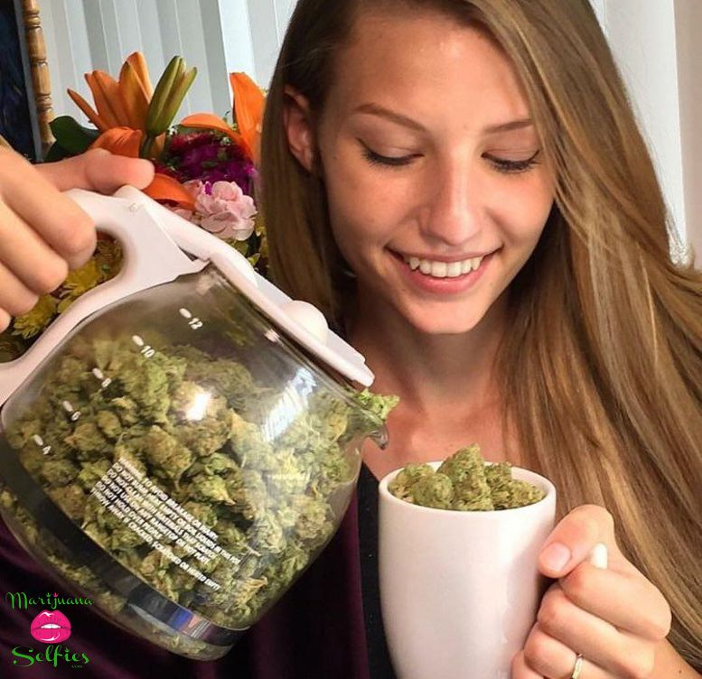 Barbie Dahl Selfie No. 4861 - VOTE for this Marijuana Selfie!