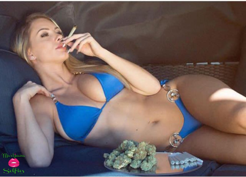 Barbie Dahl Selfie No. 5013 - VOTE for this Marijuana Selfie!