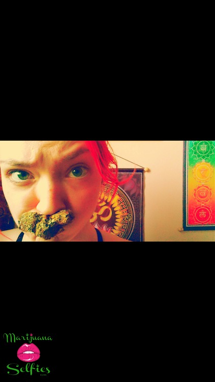 Mercedes  Portelance Selfie No. 567 - VOTE for this Marijuana Selfie!
