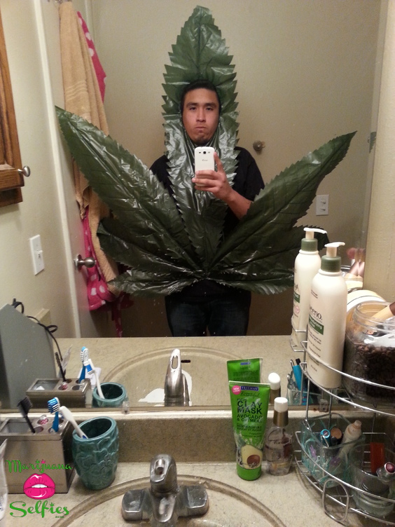 Christian Gonzales Selfie No. 661 - VOTE for this Marijuana Selfie!