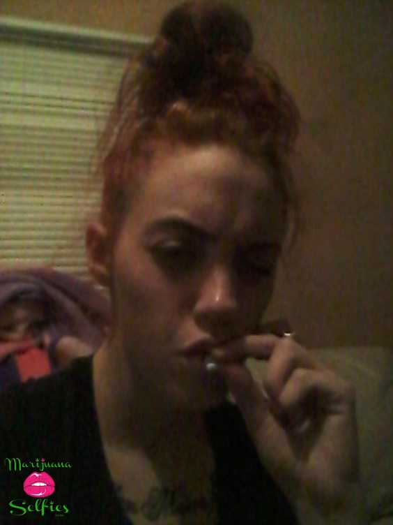 Krystal Tinker Selfie No. 767 - VOTE for this Marijuana Selfie!