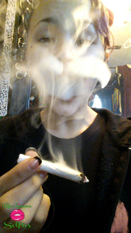 Danielle Stephenson Selfie No. 772 - VOTE for this Marijuana Selfie!