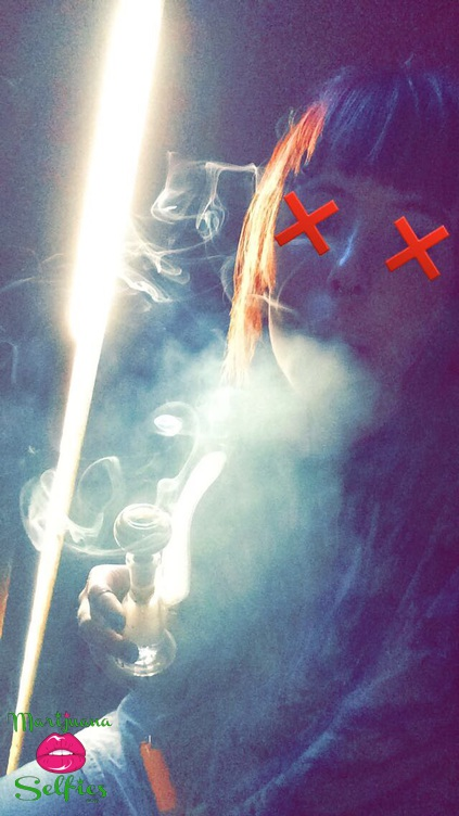 Bryana Aguila Selfie No. 852 - VOTE for this Marijuana Selfie!